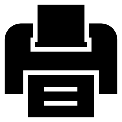 computer, document, networkprinter, office, outline, print, printer icon