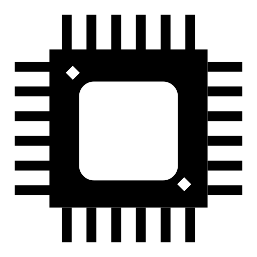 chip, computer, cpu, device, frequency, microchip, processor icon