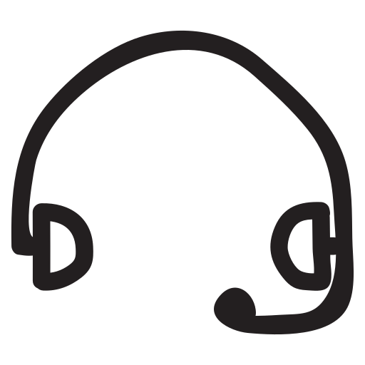 communication, device, earphone, headphone, headset, speaker, support icon