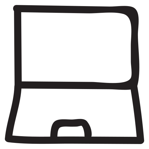 computing, connection, device, laptop, macbook, notebook, wireless icon
