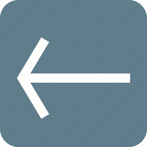 arrow, back, backspace, left, previous, undo icon