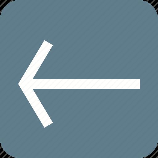 Arrow, back, backspace, left, previous, undo icon - Download on Iconfinder