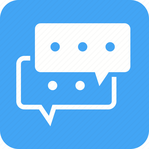 Bubbles, communication, internet, messages, mobile, phone icon - Download on Iconfinder