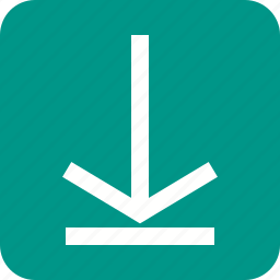 arrow, down, download, guardar, internet, save, store icon