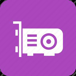 card, hardware, hdmi, vga, video card, video graphic icon