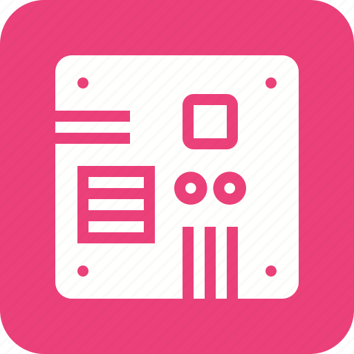 Board, chip, circuit, microchip, microprocessor, motherboard, processor icon - Download on Iconfinder