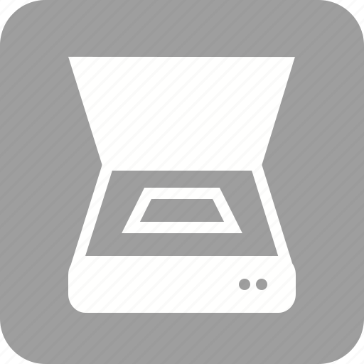 device, equipment, hardware, machine, output, scanner, tracing machine icon