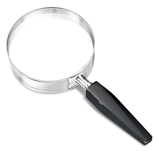 Magnifying Glass Icon Png Look up  magnifying glass White Magnifying Glass Icon Png