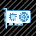 gpu, graphic card, integrated gpu, vga, vga card icon