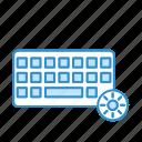 aura sync, hardware, keyboard, lighting, rgb icon