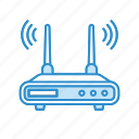 internet, modem, network, router, wifi, wireless icon