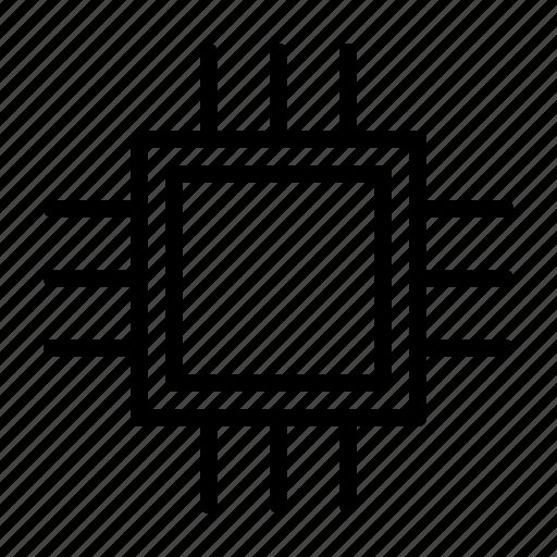 chip, computer, cpu, device, digital, hardware, processor icon