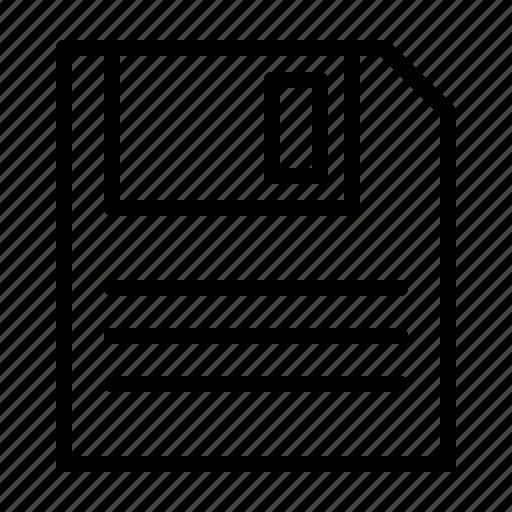 computer, device, digital, electronics, floppy, hardware icon