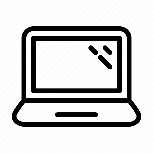 computer, device, digital, electronics, hardware, notebook icon