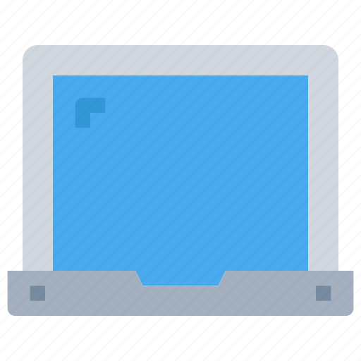 computer, device, laptop, office, technology icon