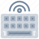 computer, device, hardware, keyboard, office, technology icon