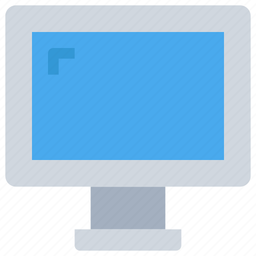 computer, device, display, office, technology icon