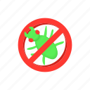 animal, ban, cartoon, control, disease, insects, pest icon