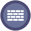 brick, building, concrete, wall icon