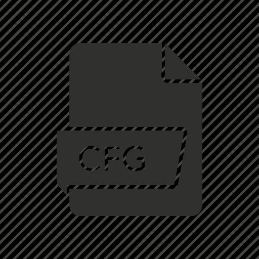 cfg file, config file, configuration, file icon
