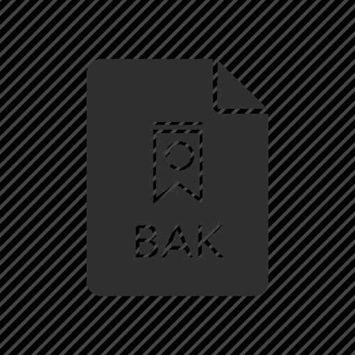 backup file icon, backup icon, bak, bak file icon