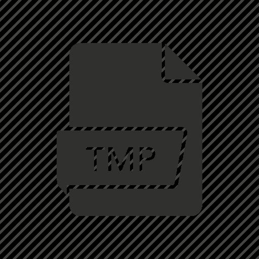 file, temporary, temporary file, tmp icon