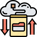 backup, data, cloud, storage, transfer