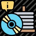 cd, disk, record, data, storage