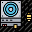 external, disk, storage, backup, device