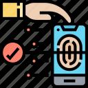 fingerprint, scan, verification, authorization, access
