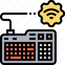 keyboard, type, connect, device, computer