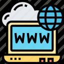 laptop, computer, website, internet, online