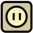 charge, power, socket icon