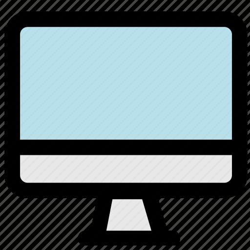 computer, desktop computer, technology icon