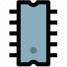 chip, electronic, ic, technology icon