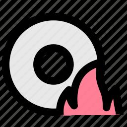 backup, datas, disc, record icon