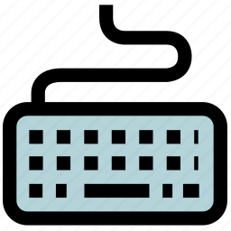 keyboard, keys, letter, message, text icon
