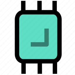 chip, electronic, electronics, technology icon