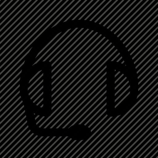call, call center, computer, headphones, internet, talk icon