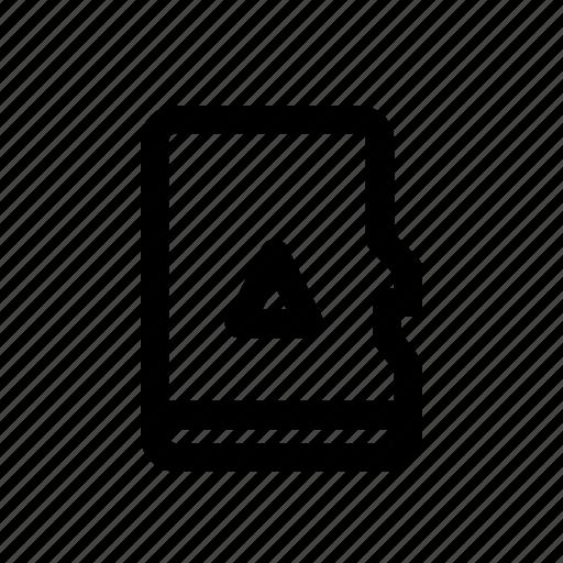 card, computer, mirco, sd icon