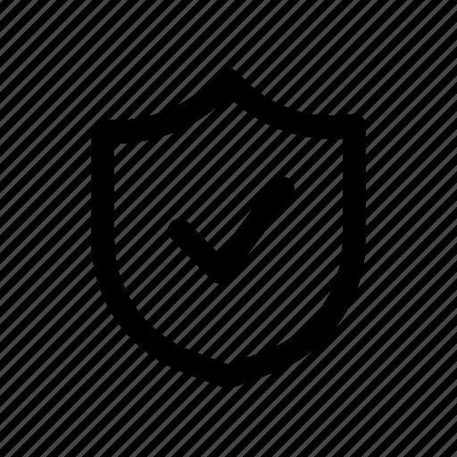 computer, ok, protection, safety icon