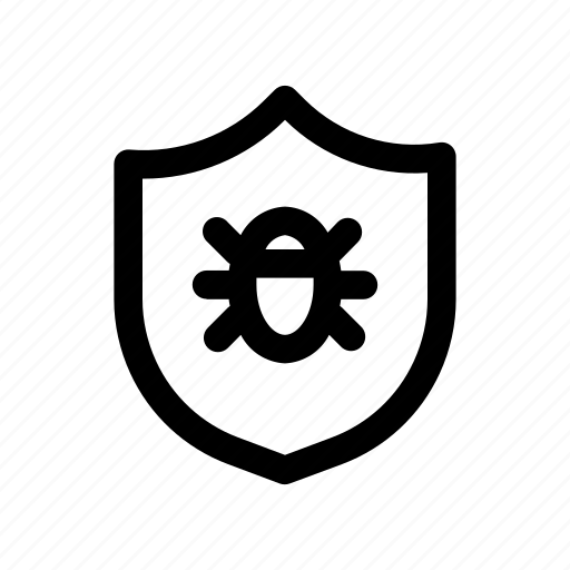 computer, protection, safety, virus icon