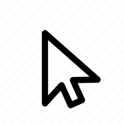 arrow, computer, mouse icon