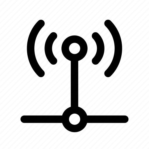 computer, connected, connection, internet, network, signal, wifi icon