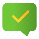 accept, approved, check, ok, success, yes icon
