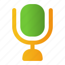 mic, microphone, sound, speaker, voice icon