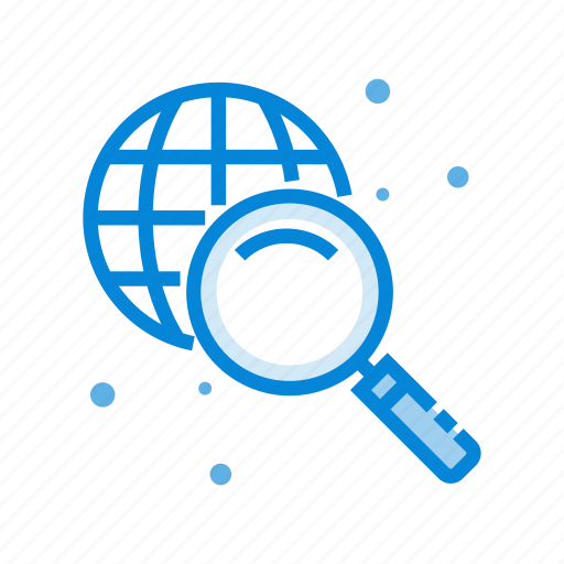 communication, find, global, network, search, solution icon