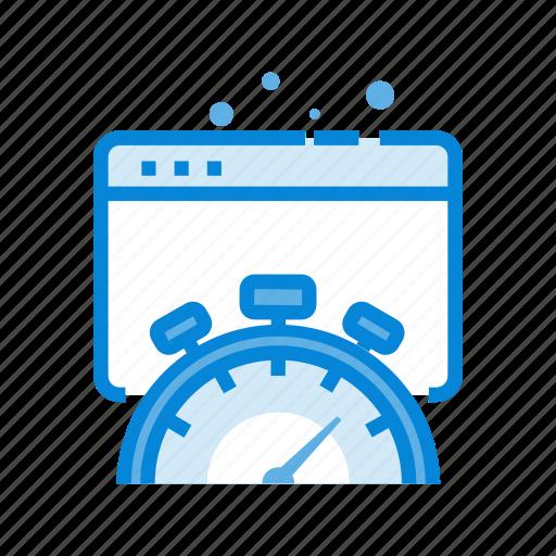 browser, dashboard, optimization, performance, seo, speed, speedometer icon