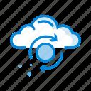 refresh, reload, sync, synchronization, synchronize, update, upload icon