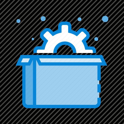 box, business, marketing, optimization, package, seo icon